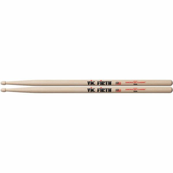 Vic Firth 55A Wood Tip Drum Sticks-0
