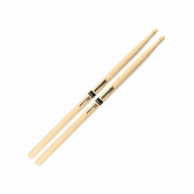 Pro Mark Hickory 2B Wood Tip Drum Sticks-0