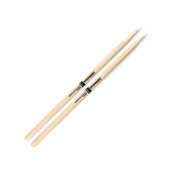 Pro Mark Hickory 5A Nylon Tip Drum Sticks-0