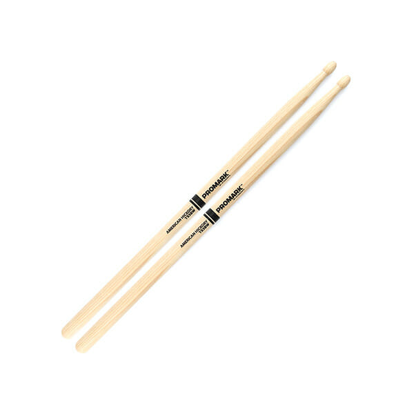 Pro Mark Hickory 5B Wood Tip Drum Sticks-0