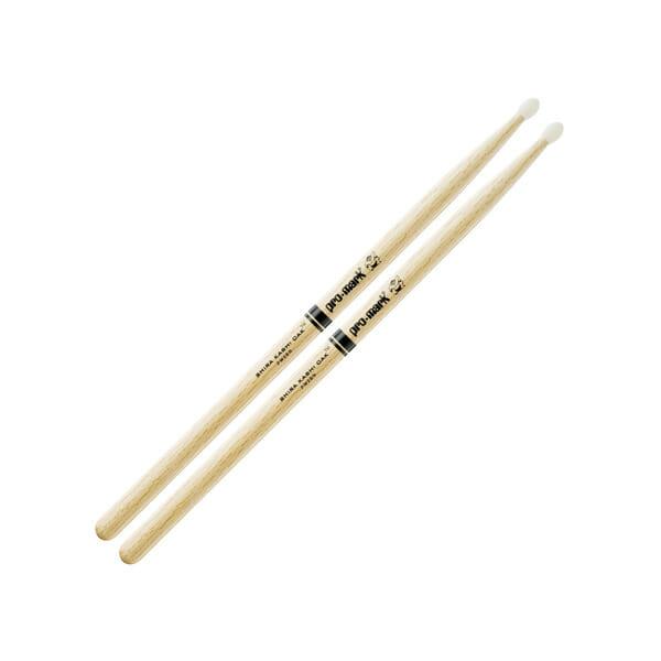 Pro Mark Oak 2B Wood Tip Drum Sticks-0