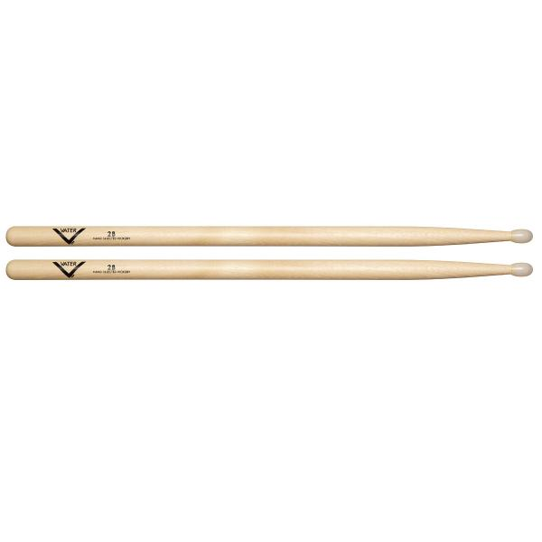 Vater Hickory 2B Nylon Tip Drum Sticks VH2BN-0