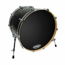 Evans EQ1 Black Resonant 20 inch Bass Head-0