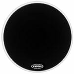 Evans EQ1 Black Resonant 22 inch Bass Head-998