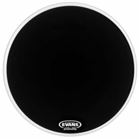 Evans EQ1 Black Resonant 22 inch Bass Head-998