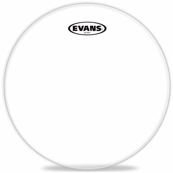 Evans G2 Clear 08 inch Tom Head-1859