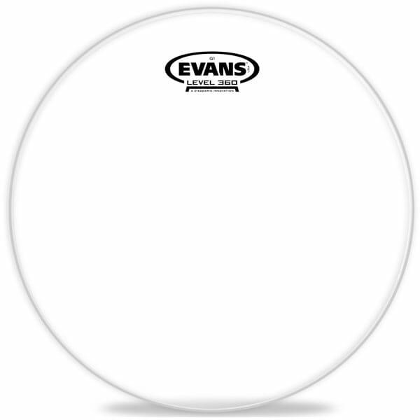 Evans G1 Clear 08 inch Tom Head-892