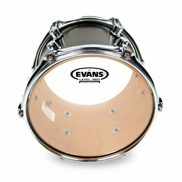 Evans G1 Clear 12 inch Tom Head-0