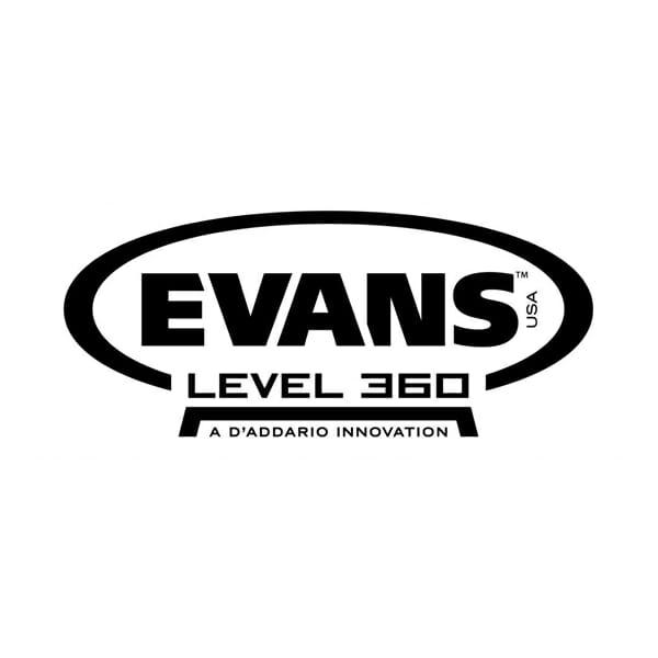 Evans EC2 SST Clear Standard 12/13/16 Tom Head Pack-871