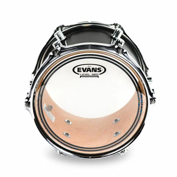 Evans EC2 SST Clear 13 inch Tom Head-0