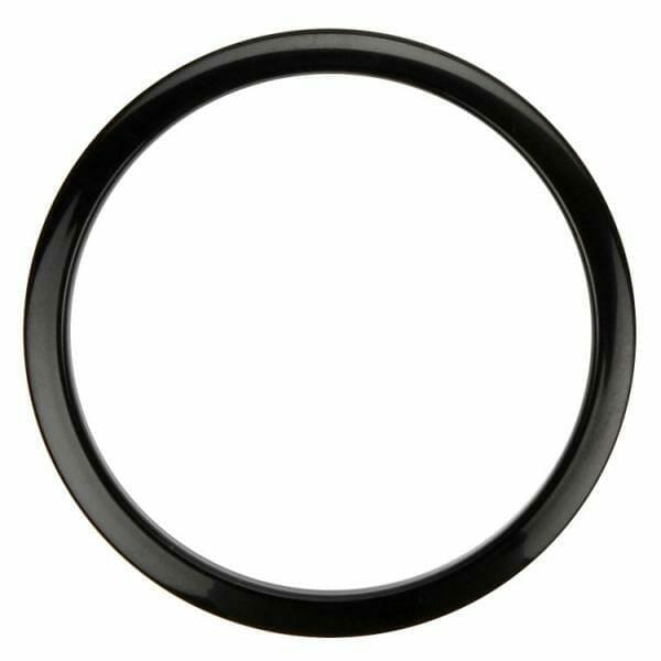 Bass Drum O's 4 inch Black-0