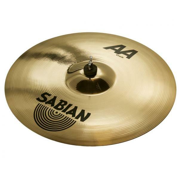 16 inch Sabian AA Medium Crash Brilliant-0
