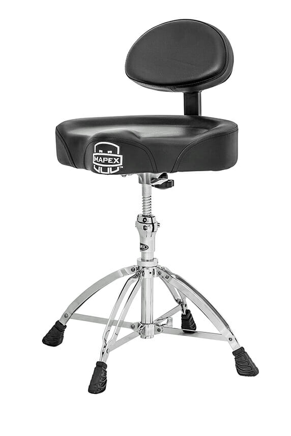 Mapex Cycle Seat Drum Throne with Backrest T-775-0