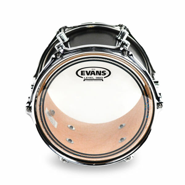 Evans EC2 SST Clear 10 inch Tom Head-0