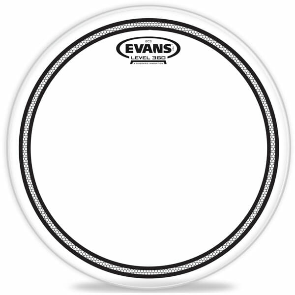 Evans EC2 SST Clear 10 inch Tom Head-928