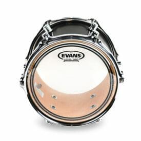 Evans EC2 SST Clear 12 inch Tom Head-0