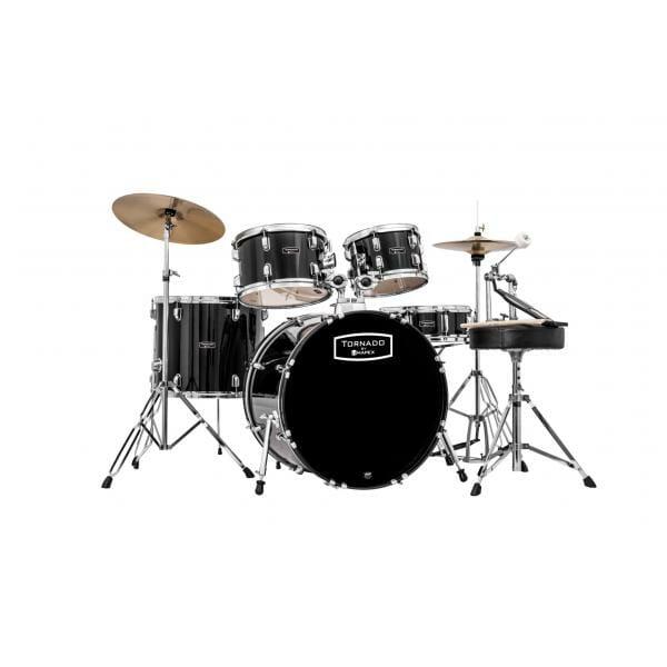"Mapex Tornado Starter Drum Kit - 22"" Rock Fusion - Black TND5294FTC-DK-0"