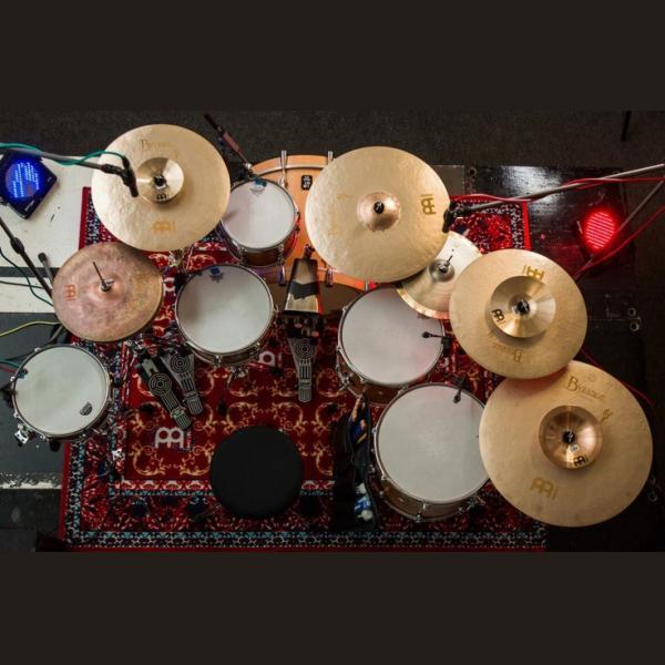 Meinl Benny Greb Byzance Vintage Sand Cymbal Set-1348