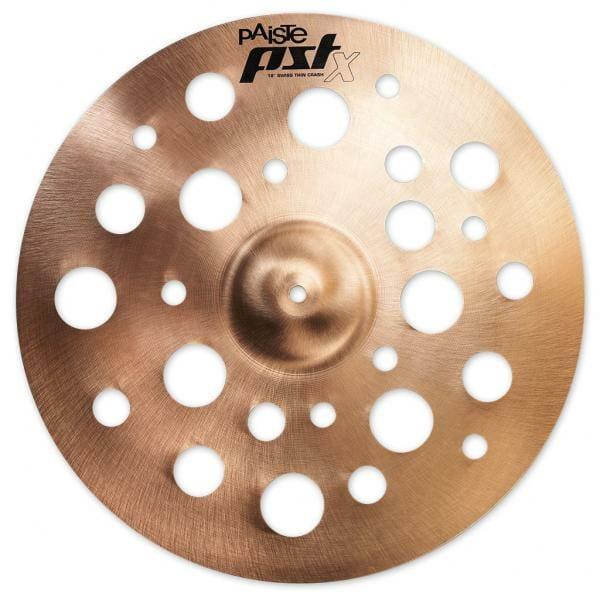 """Paiste PST X Swiss 18"""" Thin Crash Cymbal PSTSWTCR18-0"""
