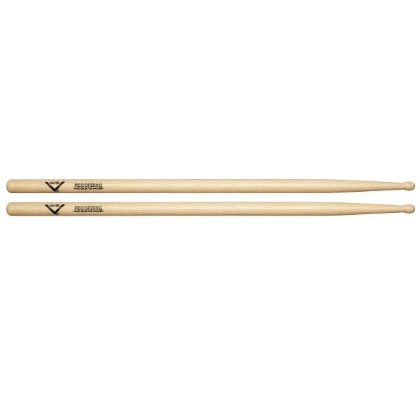 Vater Hickory Recording Wood Tip Drum Sticks VHRECW -0