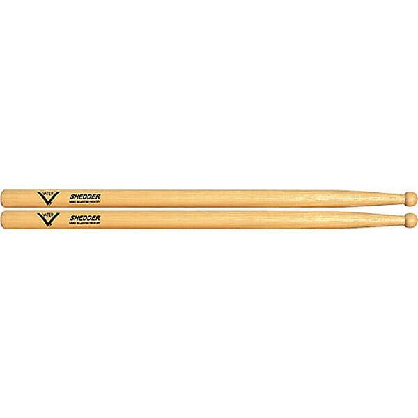 Vater Hickory Shedder Wood Tip Drum Sticks VHSHW-0