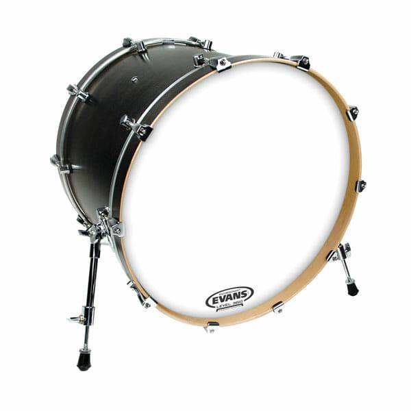 Evans EQ3 Smooth White 22 inch Bass Head-0