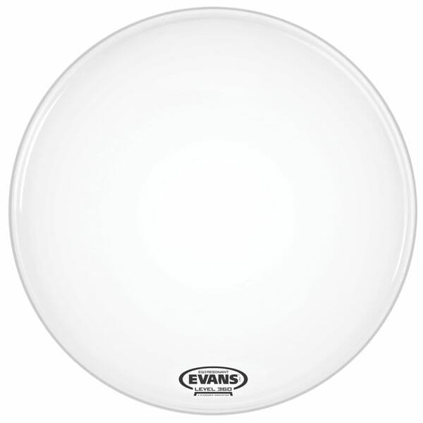 Evans EQ3 Smooth White 22 inch Bass Head-1033