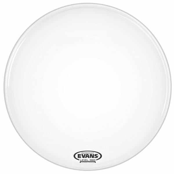 Evans EQ3 Smooth White 18 inch Bass Head-1037