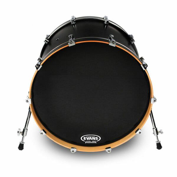 Evans EQ3 Black 24 inch Bass Head-0