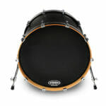 Evans EQ3 Black 20 inch Bass Head-0