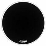 Evans EQ3 Black 20 inch Bass Head-1056