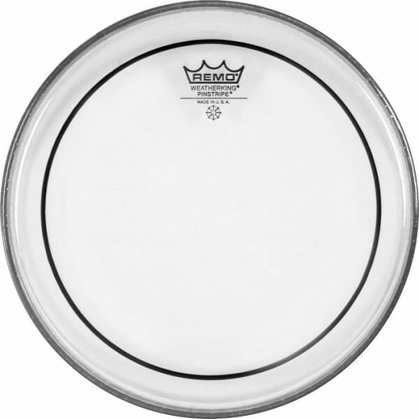 Remo Clear Pinstripe Pro Pack Rock Fusion 10/12/16 Inc FREE 14 inch Drum Head-1135