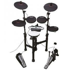 Carlsbro Compact Electronic Commander Drum Kit CSD130 - Free Headphones-0