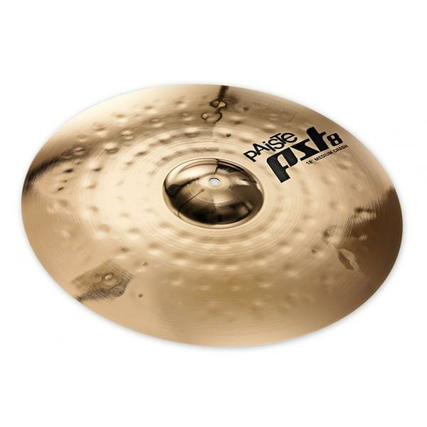 "Paiste PST8 16"" Reflector Rock Crash-0"