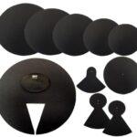 QT Silencer Pad 22″ American Fusion Set (QTAF22)-0