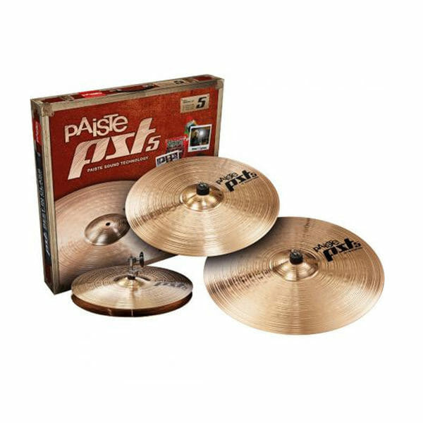 Paiste PST5 Rock Cymbal Pack-0