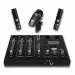 Sabian Sound Kit Complete 4 Piece Drum Mic & Mixer Kit Details-0