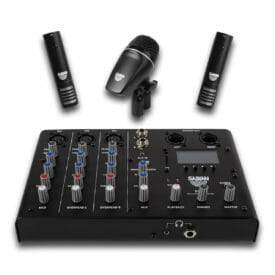 Sabian Sound Kit Complete 4 Piece Drum Mic & Mixer Kit Details-0
