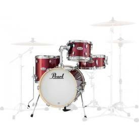 Pearl Midtown Series Portable Drum Kit Shell Pack-Black Cherry Glitter -0