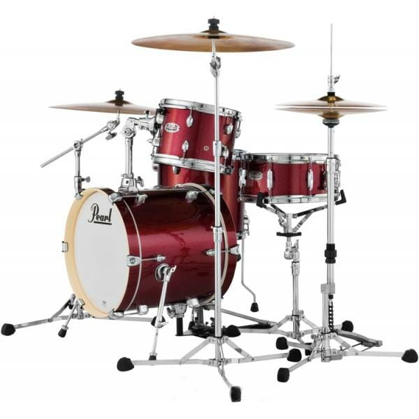Pearl Midtown Series Portable Drum Kit Shell Pack-Black Cherry Glitter -1969