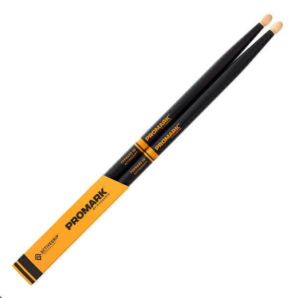 Promark Forward 5B ActiveGrip Acorn Drum Sticks-0