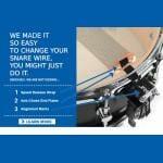 Puresound Custom Pro Series Brass Snare Drum Wires 14″ 20 Strand-CPB1420-2024