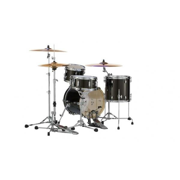 Pearl Midtown Series Portable Drum Kit Shell Pack-Black Gold Sparkle-2092