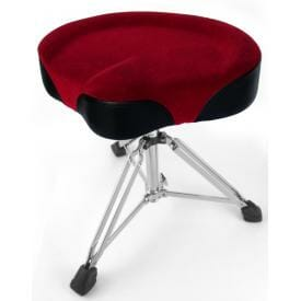 Cycle Seat Drum Throne -Red-0
