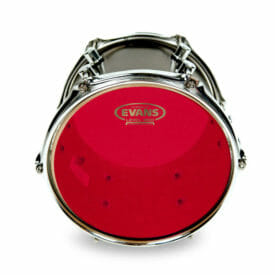 "Evans 360 12"" Hydraulic Red Tom Drum Head-2163"