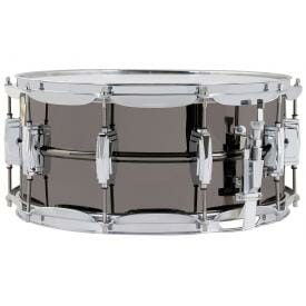 "Ludwig Black Beauty LB417 14x6.5"" Brass Snare Drum -0"