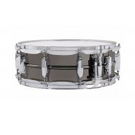 Ludwig Black Beauty LB416 14x5in Brass Snare Drum -0
