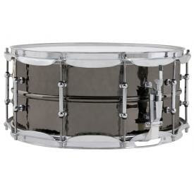 "Ludwig Black Beauty LB417KT 14x6.5"" Snare Drum-0"