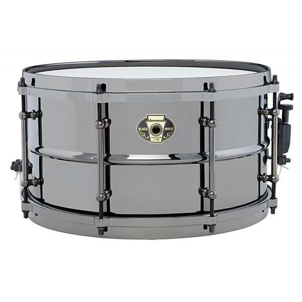 Ludwig Black Magic 13x7 LW0713 Snare Drum -0