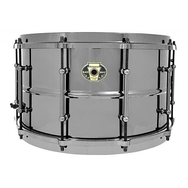 Ludwig Black Magic 14x8 LW0814 Snare Drum -0